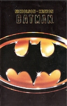 Batman - Finnish VHS movie cover (xs thumbnail)