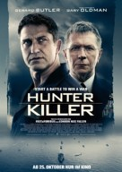 Hunter Killer - German Movie Poster (xs thumbnail)