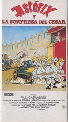 Astérix et la surprise de César - Spanish VHS movie cover (xs thumbnail)