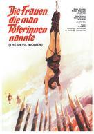 Le amazzoni - donne d'amore e di guerra - German Movie Poster (xs thumbnail)