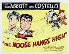The Noose Hangs High - Movie Poster (xs thumbnail)