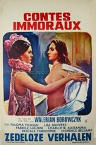 Contes immoraux - Belgian Movie Poster (xs thumbnail)