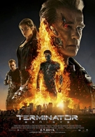 Terminator Genisys - Croatian Movie Poster (xs thumbnail)
