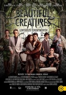 Beautiful Creatures - Hungarian Movie Poster (xs thumbnail)