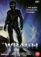 The Wraith - British DVD movie cover (xs thumbnail)
