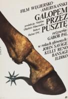 Hosszú vágta - Polish Movie Poster (xs thumbnail)
