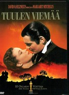 Gone with the Wind - Finnish Movie Cover (xs thumbnail)