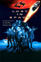 Lost in Space - German Movie Poster (xs thumbnail)
