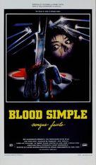 Blood Simple - Italian Movie Poster (xs thumbnail)