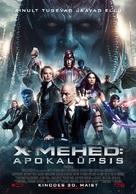 X-Men: Apocalypse - Estonian Movie Poster (xs thumbnail)
