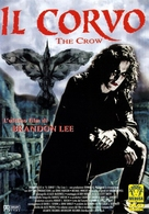 The Crow - Italian DVD movie cover (xs thumbnail)