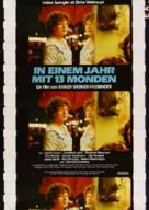 In einem Jahr mit 13 Monden - German Movie Poster (xs thumbnail)