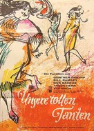 Unsere tollen Tanten - German Movie Poster (xs thumbnail)