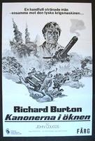 Raid on Rommel - Swedish Movie Poster (xs thumbnail)