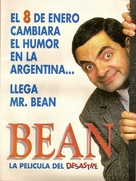 Bean - Argentinian Movie Poster (xs thumbnail)