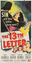 The 13th Letter - Movie Poster (xs thumbnail)