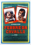Febbre da cavallo - Italian Movie Poster (xs thumbnail)