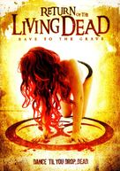Return of the Living Dead 5: Rave to the Grave - DVD cover (xs thumbnail)