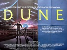 Dune - British Theatrical movie poster (xs thumbnail)