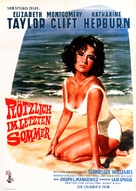 Suddenly, Last Summer - German Movie Poster (xs thumbnail)