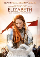 Elizabeth: The Golden Age - German Movie Poster (xs thumbnail)
