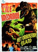 Unknown Island - Belgian Movie Poster (xs thumbnail)