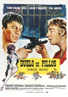 Dirty Dingus Magee - Spanish Movie Poster (xs thumbnail)