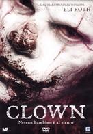 Clown - Italian DVD cover (xs thumbnail)