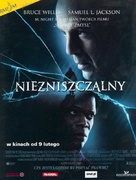 Unbreakable - Polish Movie Poster (xs thumbnail)