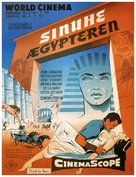 The Egyptian - Danish Movie Poster (xs thumbnail)
