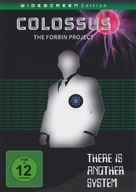 Colossus: The Forbin Project - German DVD cover (xs thumbnail)
