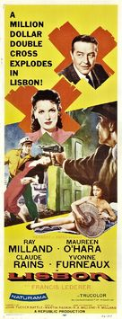 Lisbon - Movie Poster (xs thumbnail)