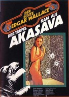 Der Teufel kam aus Akasava - German Movie Poster (xs thumbnail)