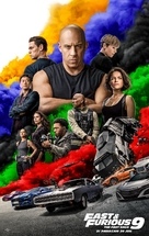 Fast & Furious 9 - Indonesian Movie Poster (xs thumbnail)