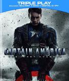 Captain America: The First Avenger - Blu-Ray movie cover (xs thumbnail)