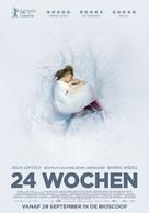 24 Wochen - Dutch Movie Poster (xs thumbnail)