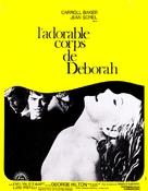 Il dolce corpo di Deborah - French Movie Poster (xs thumbnail)