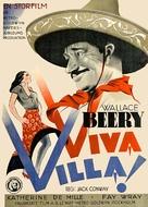 Viva Villa! - Swedish Movie Poster (xs thumbnail)