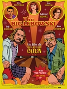 The Big Lebowski - French Movie Poster (xs thumbnail)