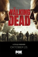 """""""The Walking Dead"""" - Hungarian Movie Poster (xs thumbnail)"""