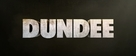 Dundee: The Son of a Legend Returns Home - Logo (xs thumbnail)