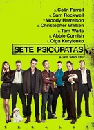 Seven Psychopaths - Brazilian Movie Poster (xs thumbnail)