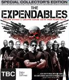 The Expendables - New Zealand Blu-Ray cover (xs thumbnail)