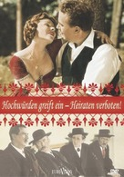 Heiraten verboten - German DVD cover (xs thumbnail)