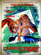 The Lost Jungle - French Movie Poster (xs thumbnail)