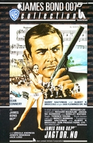 Dr. No - German VHS movie cover (xs thumbnail)