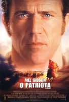 The Patriot - Brazilian Theatrical movie poster (xs thumbnail)