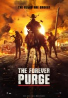 The Forever Purge -  Theatrical movie poster (xs thumbnail)