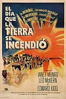 The Day the Earth Caught Fire - Argentinian Movie Poster (xs thumbnail)