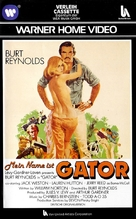 Gator - German VHS movie cover (xs thumbnail)